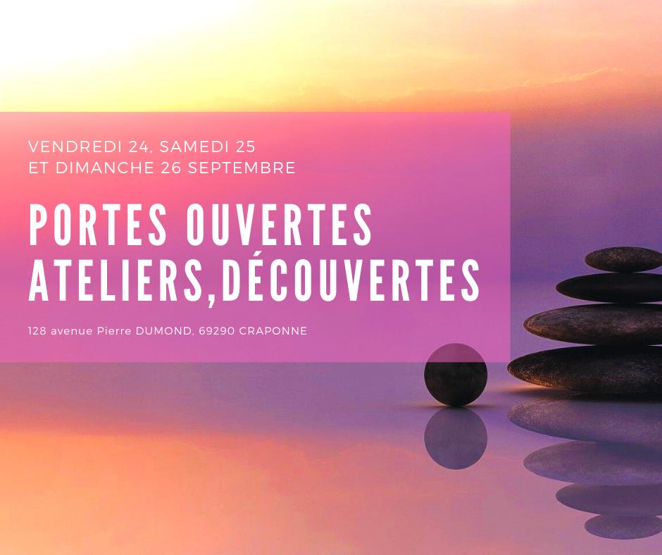 Portes Ouvertes Ateliers et Decouvertes Du 24 au 26 Septembre 2021 Craponne -Viaelis-128 avenue Pierre Dumond